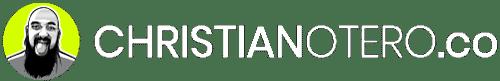Christian Otero Logotipo fondo blanco icono en color